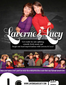 Laverne & Lucy Promotional Flyer